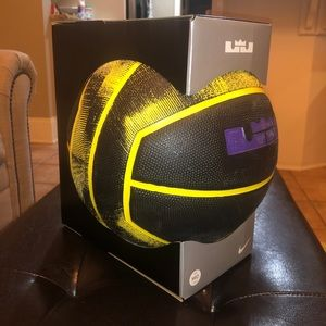 Nike Lebron Mid-Size Outdoor Playground Basketball
